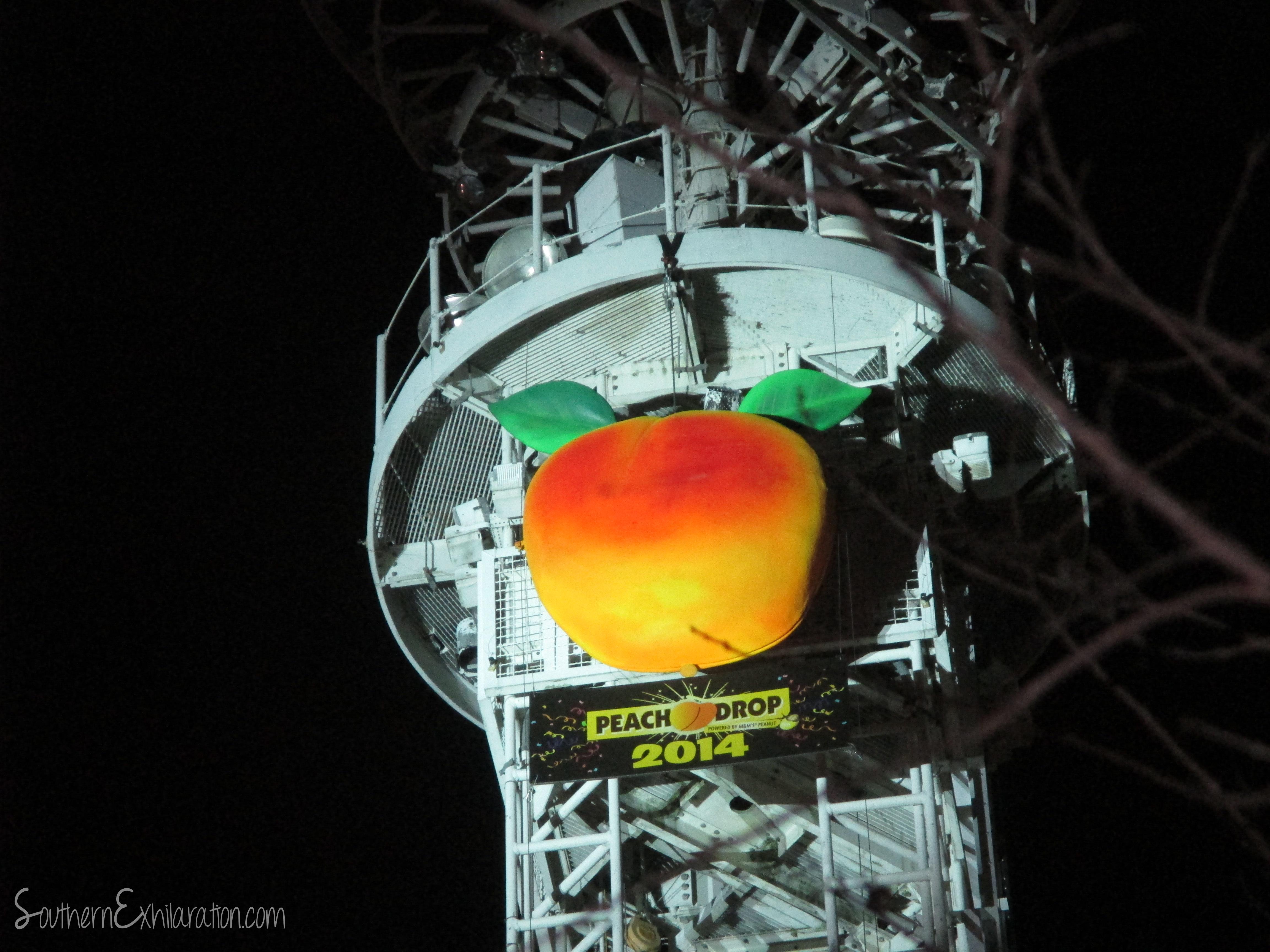 Atlanta's Peach Drop