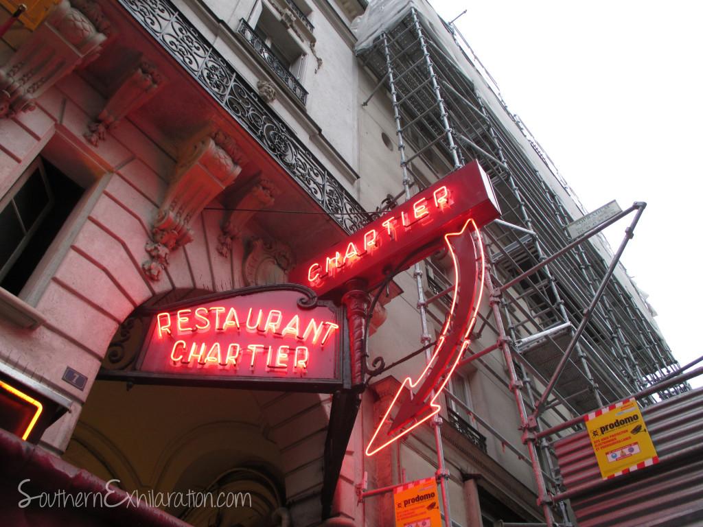 Southern Exhilaration: Restaurant Bouillon Chartier   Paris, France