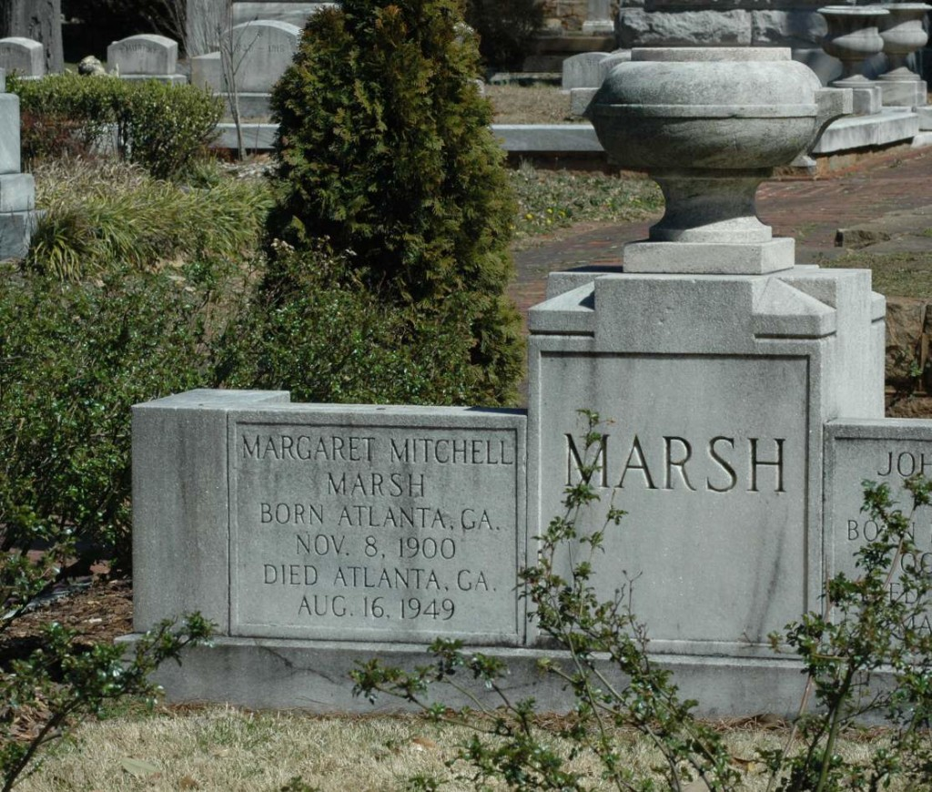 Southern Exhilaration: Margaret Mitchell Grave | Oakland Cemetery