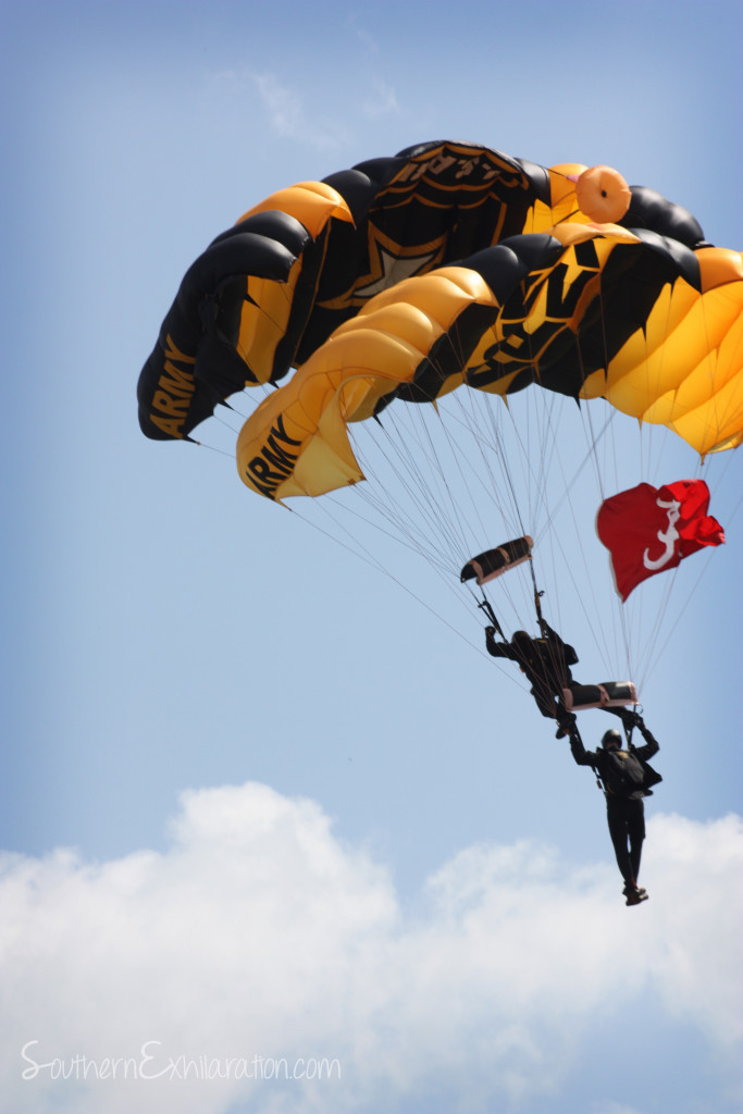 Southern Exhilaration: US Army Golden Knights